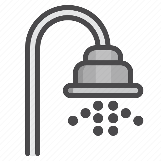 cleaned, cleaning, equipment, shower icon
