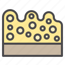cleaned, cleaning, equipment, sponge icon