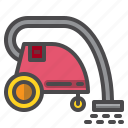 cleaned, cleaner, cleaning, equipment, vacudm icon