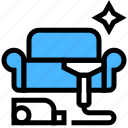 cleaning, furniture, deep, vacuuming icon
