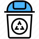bin, can, garbage, recycle icon