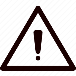 alarm, alert, attention, danger, report, statistics, warning icon