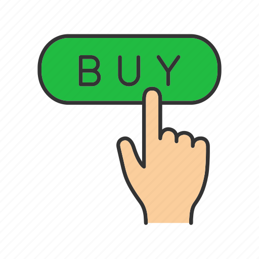 buy, click, finger, internet, online, order, shopping icon
