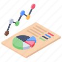 analytics, business chart, business infographic, data chart, statistics icon