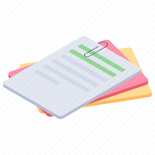 archives, office documents, office files, office work, papers icon