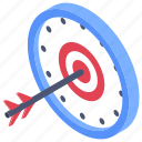 aim, archery, dartboard, goal, target icon