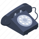 telephone, landline, telephone set, voice call, communication, vintage phone