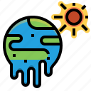 climate, global, heatwave, hot, sun, warming, weather icon