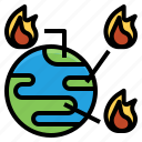 destroyed, earth, forest, global, occurance, risk, wildfire