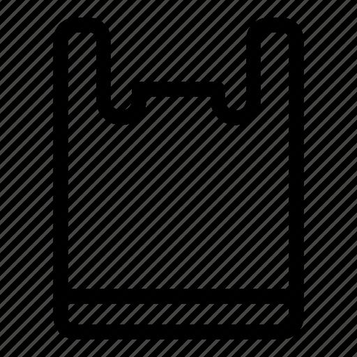 commerce, commerce and shopping, plastic, plastic bag, shopper, shopping bag, supermarket icon