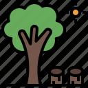 deforestation, dry, forest, tree, wood