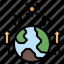 earth, global, nature, sun, warming, world