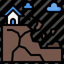 dangerous, landslide, nature, security, weather