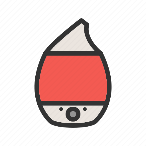 air, comfort, device, household, humidifier, humidity, water icon