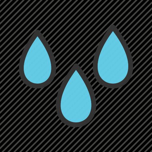 climate, humidity, moist, moisture, rain, water, wet icon
