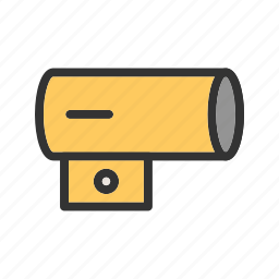 air, blower, fan, heater, industrial, portable, temperature icon
