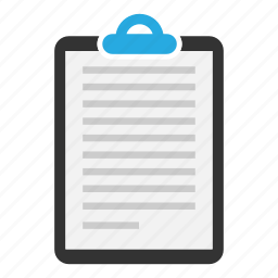 clipboard, content, copyright, document, page, sheet, text icon