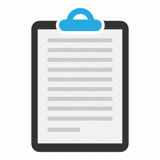 Clipboard, document, content, copyright, page, sheet, text icon - Download on Iconfinder
