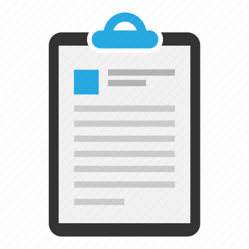 clipboard, copyright, document, information, profile, sheet, text icon