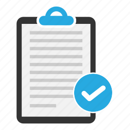 clipboard, content, document, file, paper, sheet, text icon