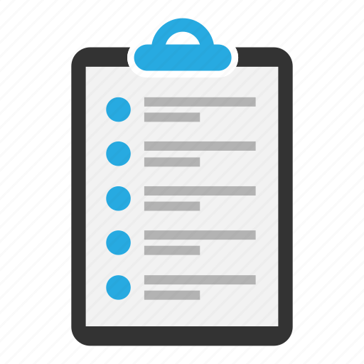 clipboard, content, document, page, sheet, task, text icon
