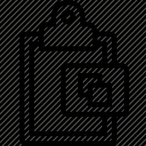 clipboard, copy, functions icon