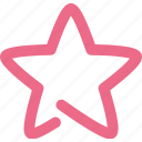 star, achievement, bookmark, favorite, rating