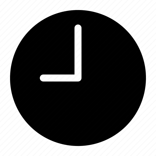 clock, nine, o'clock, time icon