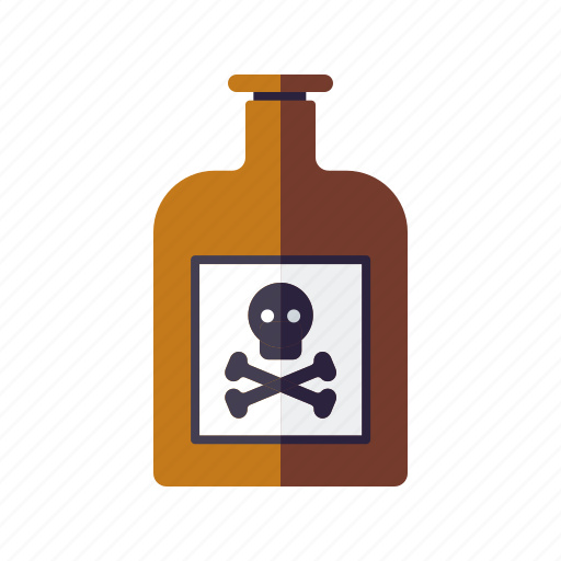 bottle, danger, drug, healthcare, medical, pharmacy, poison icon