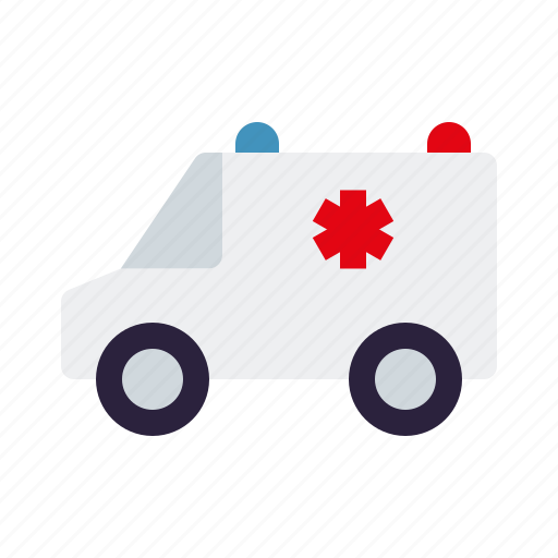 ambulance, car, emergency, healthcare, medical, van, vehicle icon