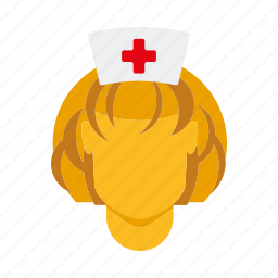 doctor, female, healthcare, medical, nurse, woman icon