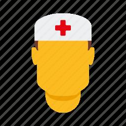 doctor, healthcare, male, man, medical, nurse icon