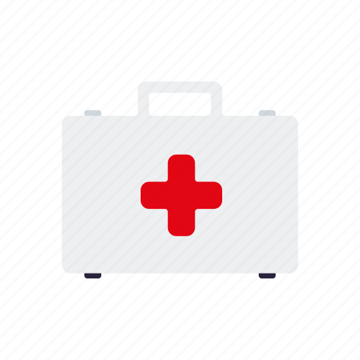 emergency, first aid, healthcare, medical, suitcase icon
