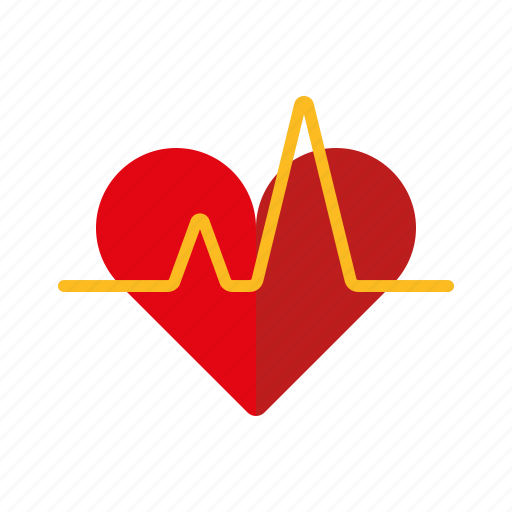 graph, healthcare, heart, heartbeat, medical icon