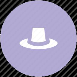 cowboy hat, fedora hat, floppy hat, hat, headwear, straw hat, summer hat icon