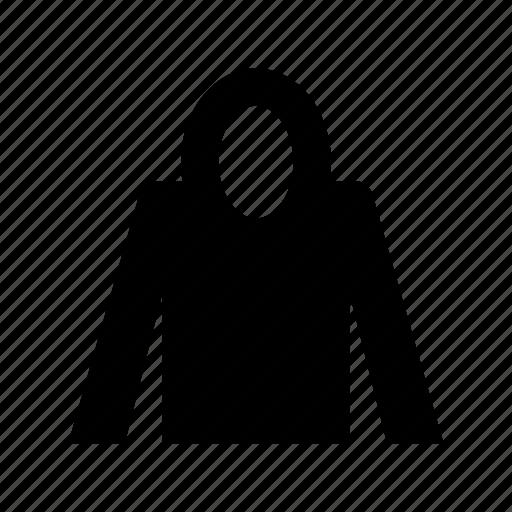 hooded sweatshirt, hoodie, kids hoodies, men hoodies, women hoodies icon