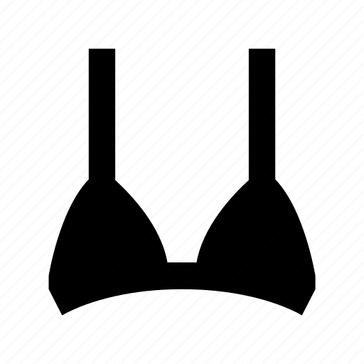 beach clothes, bra, brassiere, swimwear, undergarment icon