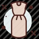 apparel, casual, dress, shop icon
