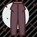 apparel, dress, pants, shop icon