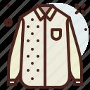apparel, shirt, shop icon