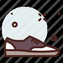 apparel, men, shop, sneakers icon