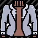 clothing, coat, fashion, garment, jacket, overcoat, raincoat icon