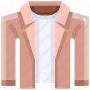 clothing, coat, fashion, garment, jacket, overcoat, winter icon