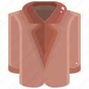 cardigan, clothes, clothing, garment, overcoat, shirt, winter icon