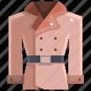 coat, denim, garment, greatcoat, jacket, overcoat, raincoat