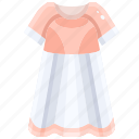 dress, dresses, elegant, fashion, feminine, long icon