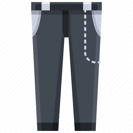 Clothes, fashion, garment, jeans, skinny, trousers icon - Download on Iconfinder