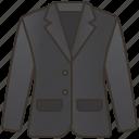 apparel, blazer, couture, elegant, suit icon