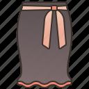 clothing, fashion, fishtail, lady, skirt