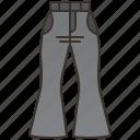 bell, bottom, disco, jeans, retro icon